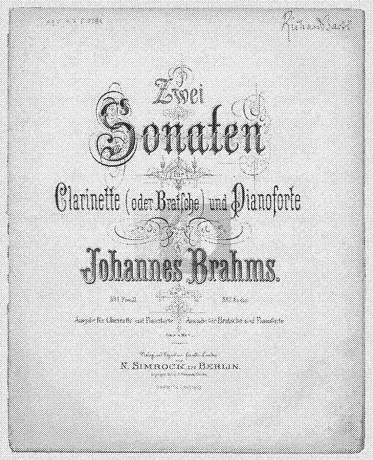 poulenc clarinet sonata sheet music pdf