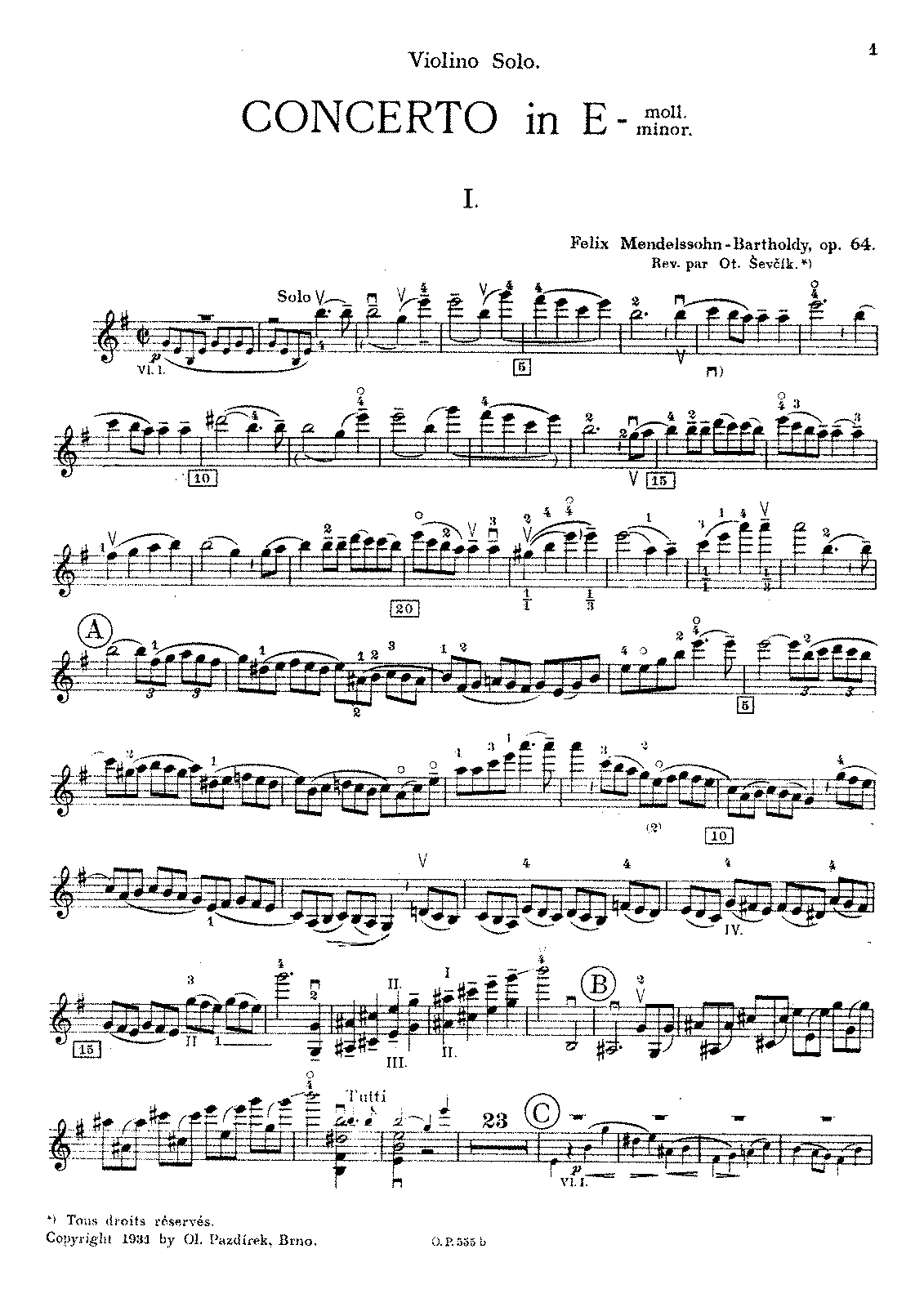 mendelssohn violin music - photo #7