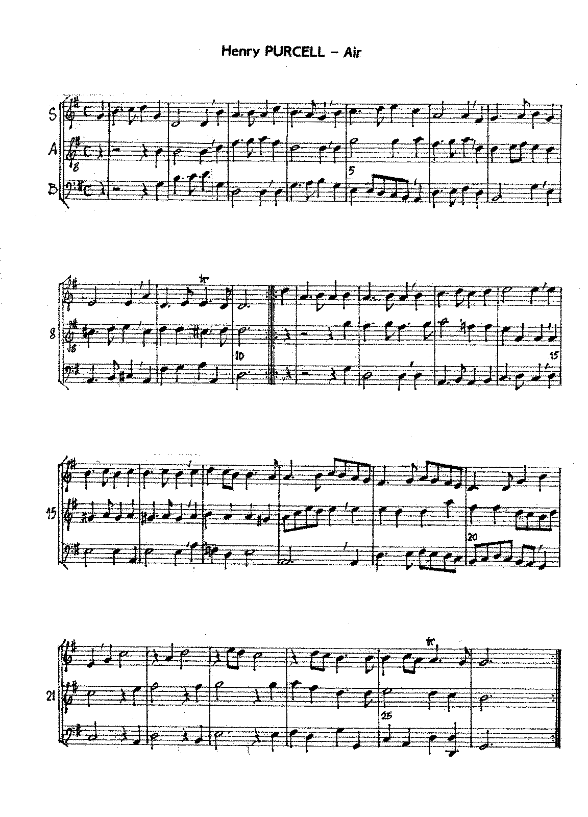 air in g major z 641 purcell henry imslp petrucci music