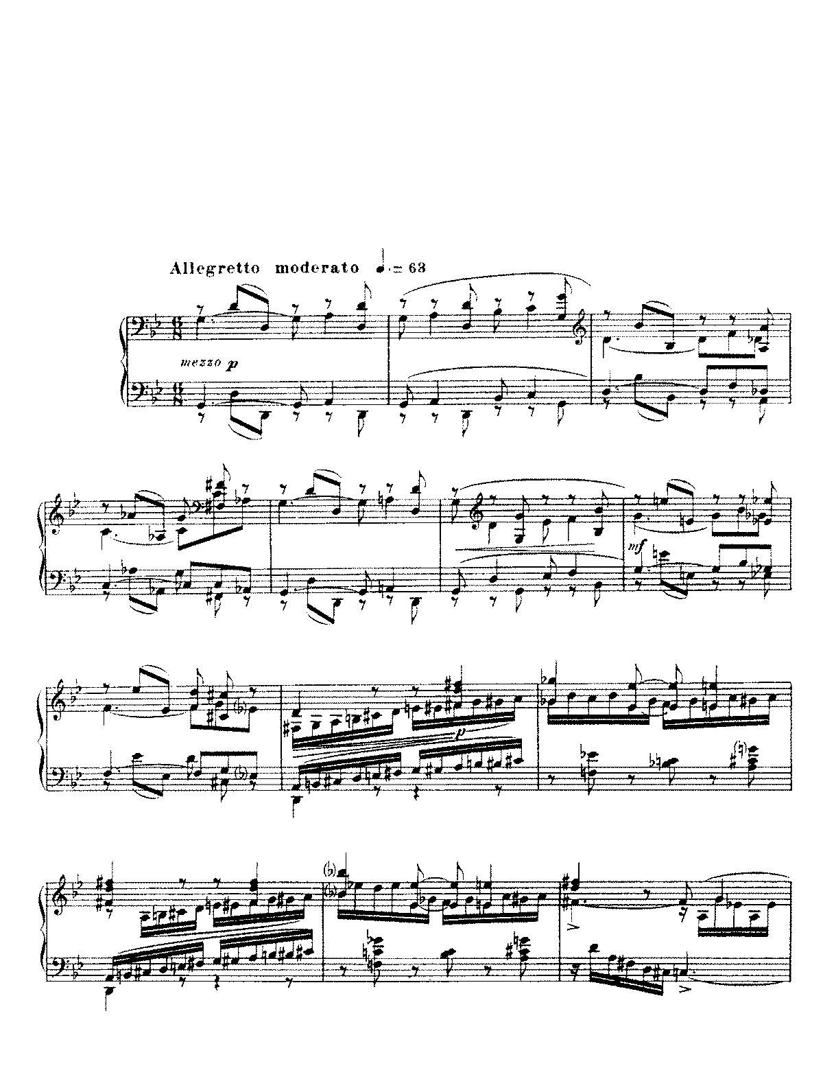 Barcarolle No. 1 in A Minor, Op. 26