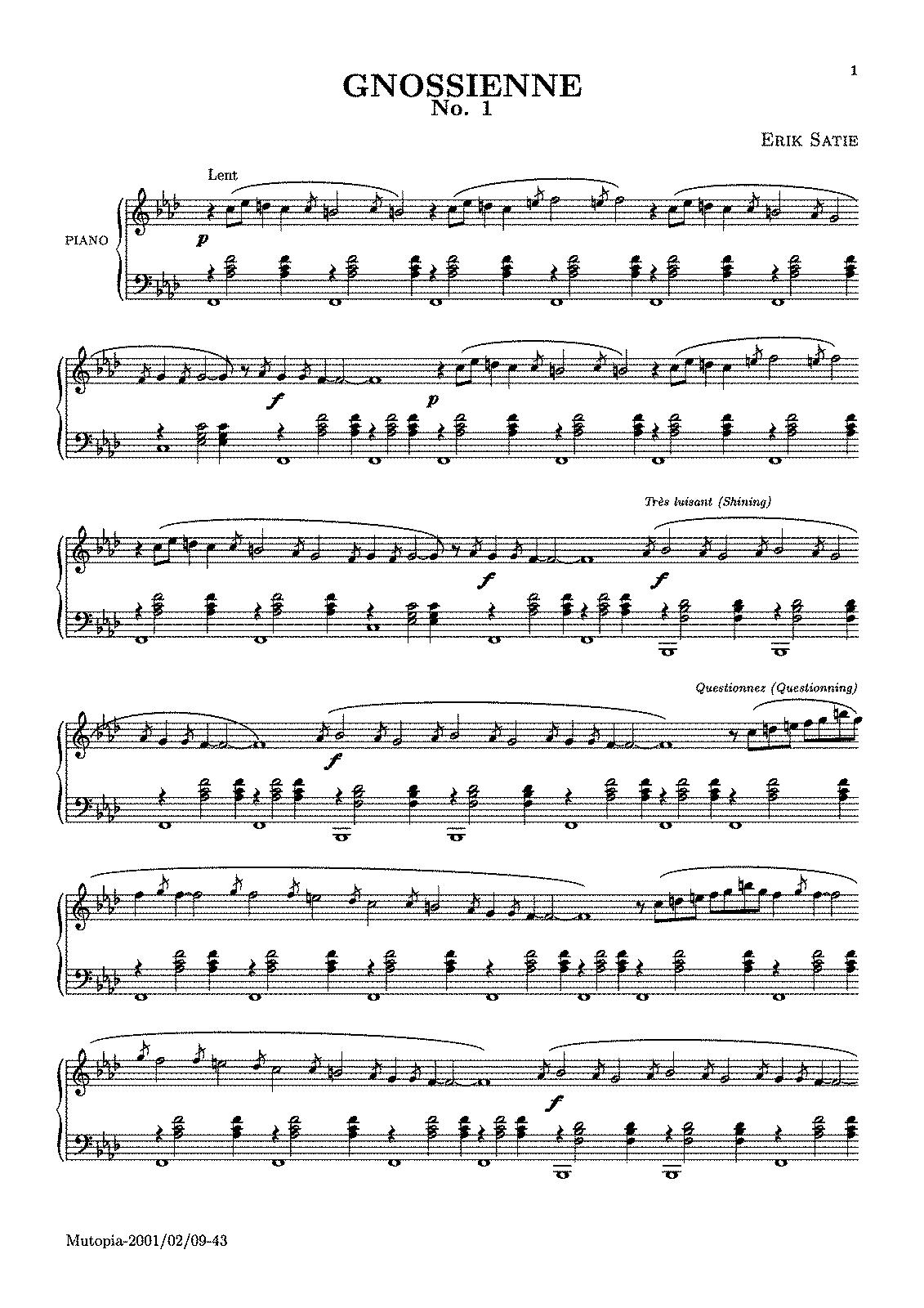 GNOSSIENNE 3 GUITAR PDF DOWNLOAD