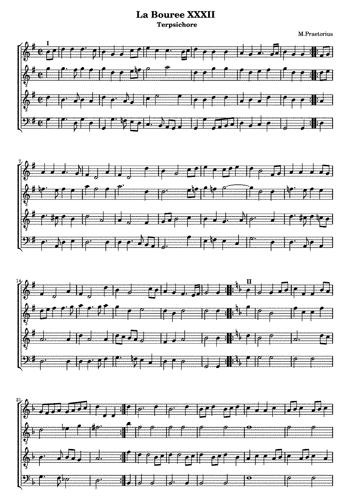 MICHAEL PRAETORIUS TERPSICHORE PDF