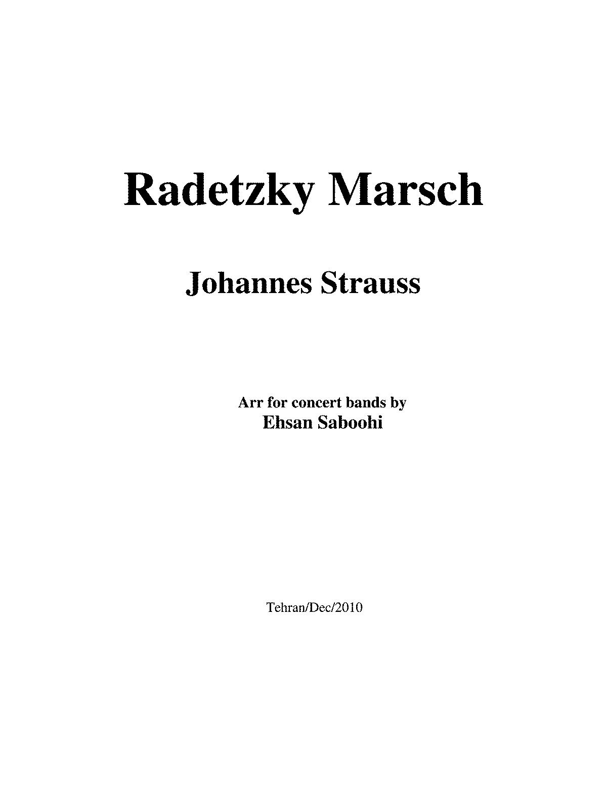 radetzky marsch als midifiles