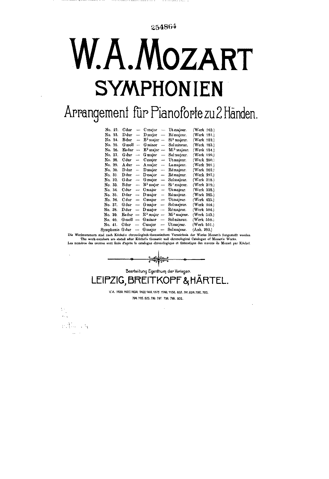 Symphony No.41 in C major, K.551 (Mozart, Wolfgang Amadeus)