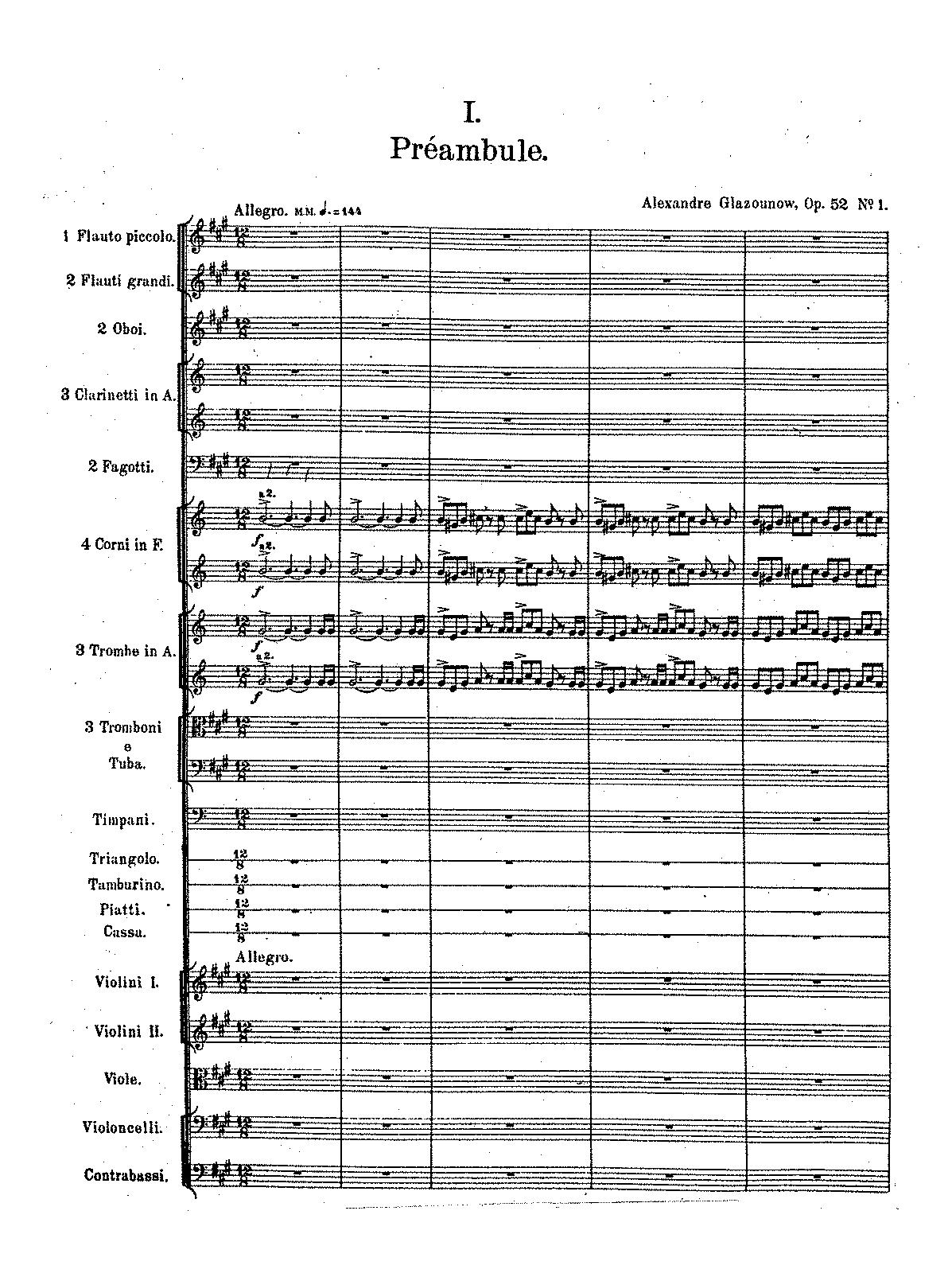 alexander glazunov dirigieren