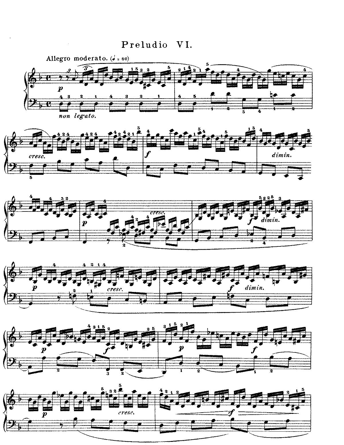 das wohltemperierte klavier noten