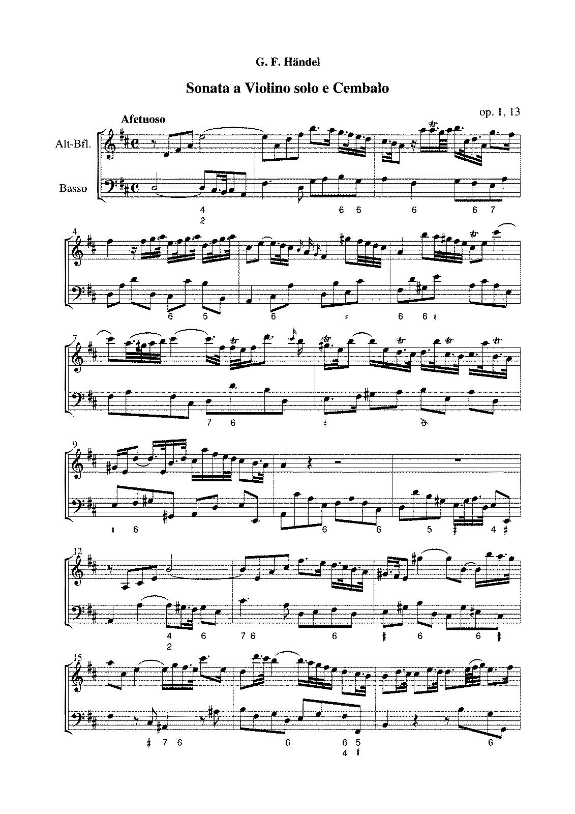 Bourree Handel Violin Suzuki