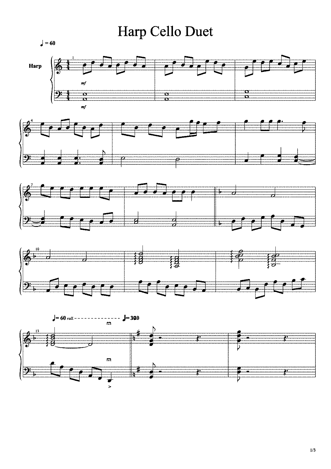 The Very Easy Cello Duets {Forum Aden}