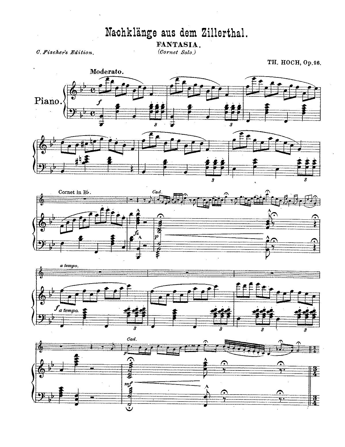 Nachklange aus dem Zillerthal, Op 16 (Hoch, Theodore) - IMSLP