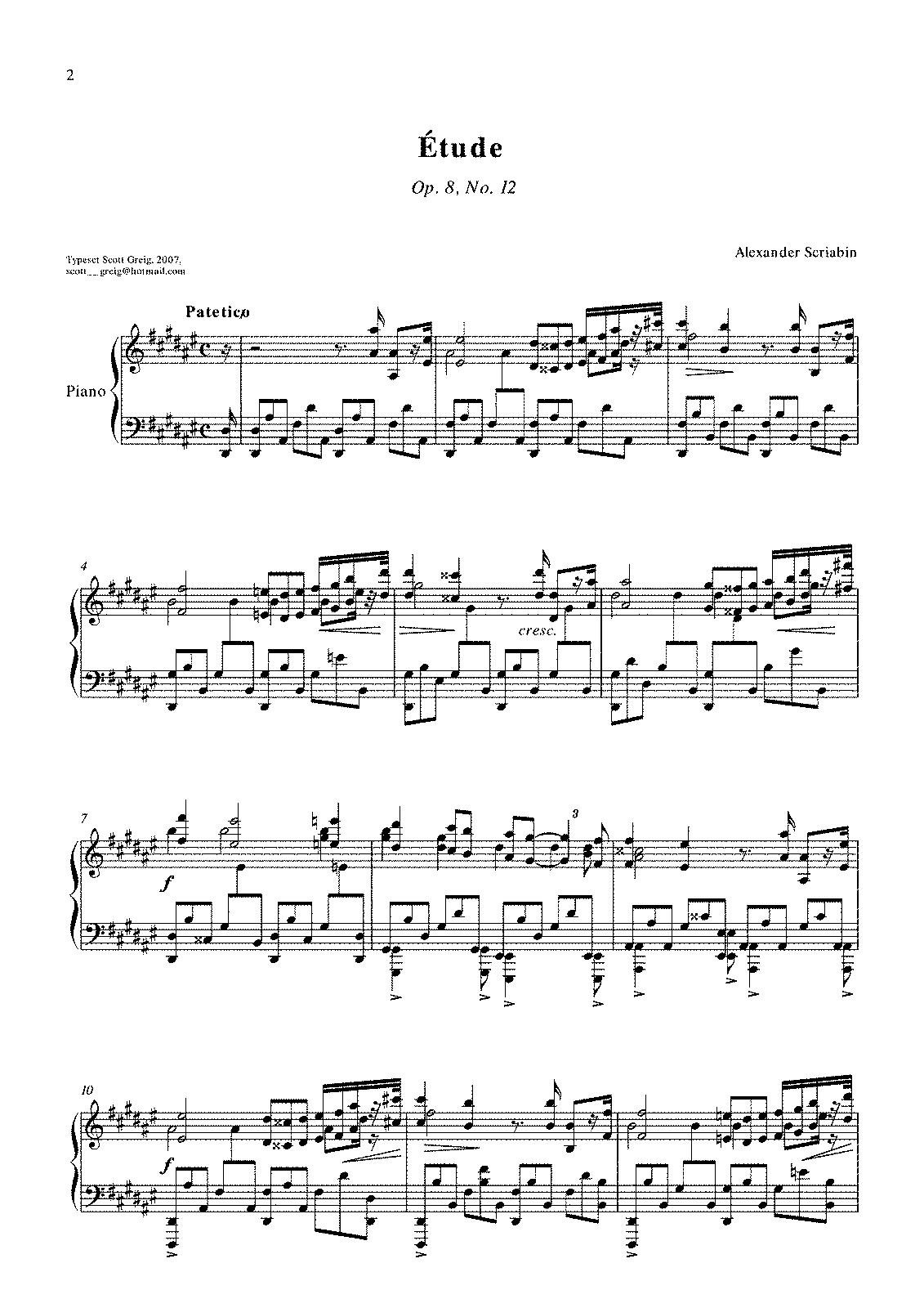 op. 8 n. 12