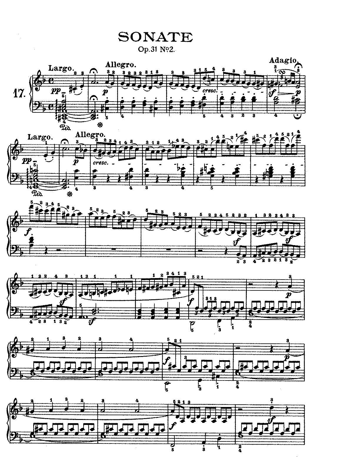 Beethoven Tempest Sonata 3rd Movement Pdf Reader - linoarebel