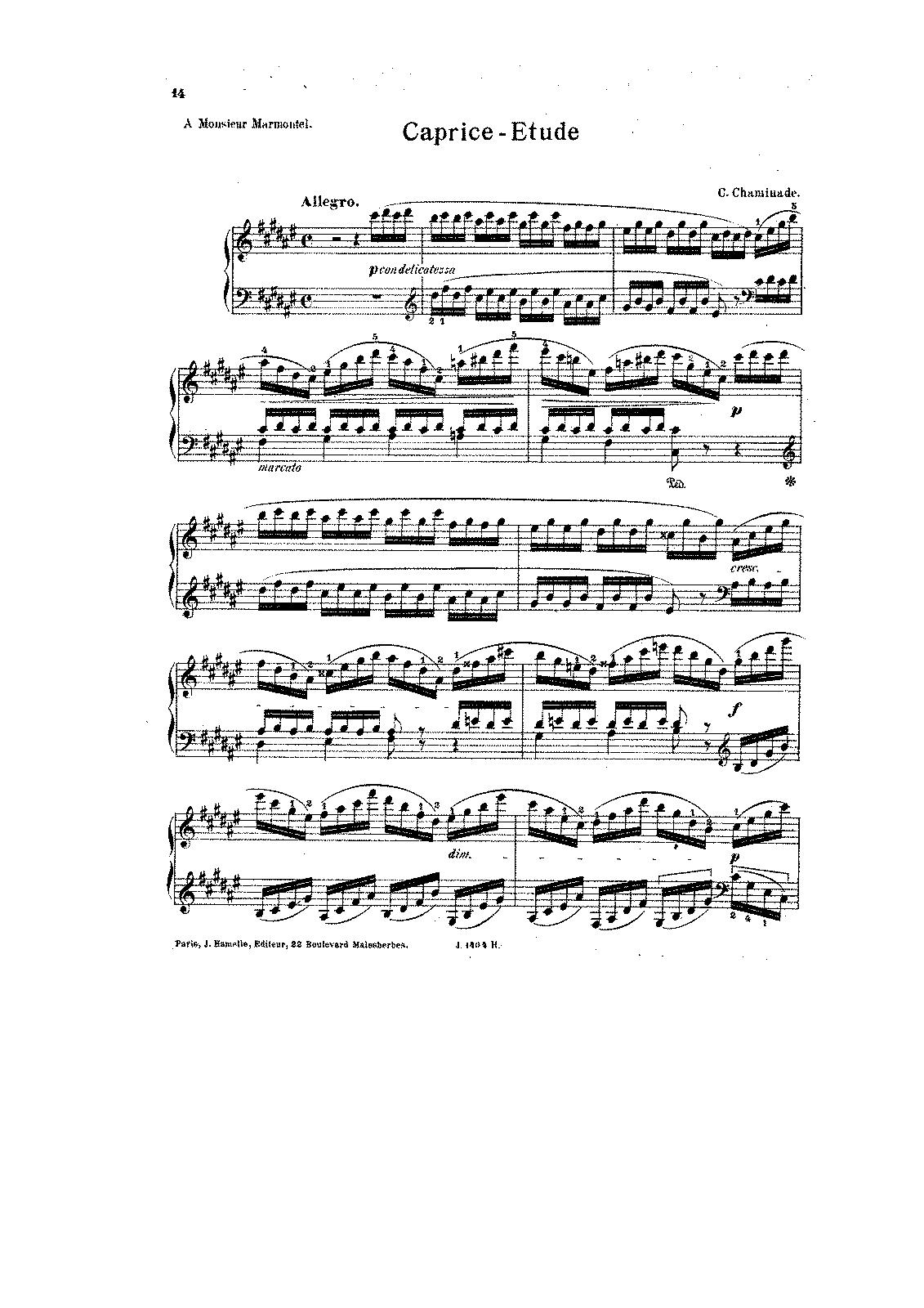6 Études artistiques, Op 4 (Chaminade, Cécile) - IMSLP